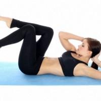 Простые Упражнения, Чтобы Убрать Живот и Бока