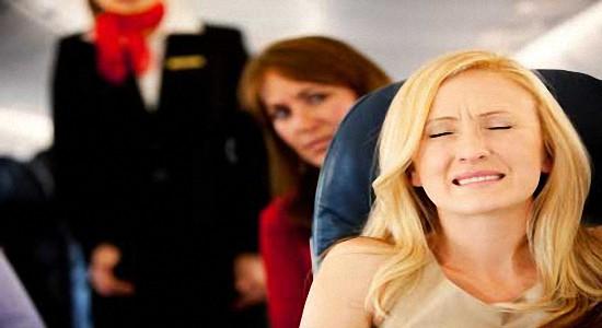 Боязнь летать на самолете