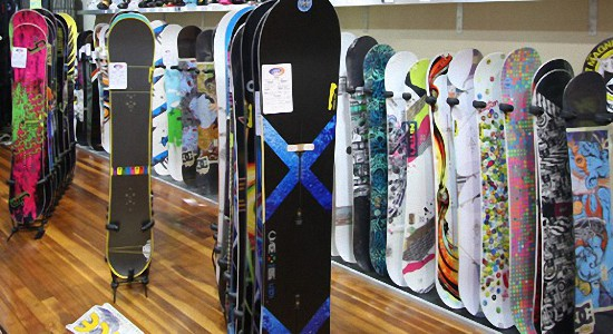Как выбрать доску для сноуборда