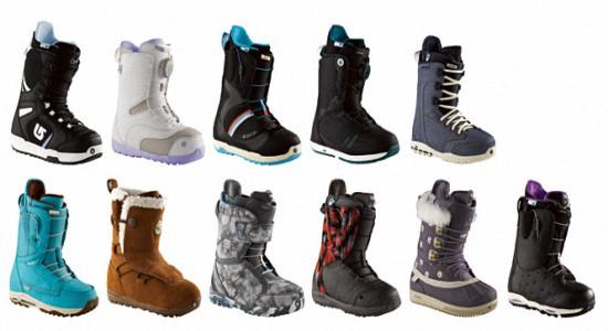 Женские ботинки для сноуборда