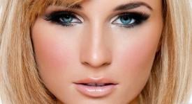 Правильный Дневной Макияж для Голубых Глаз
