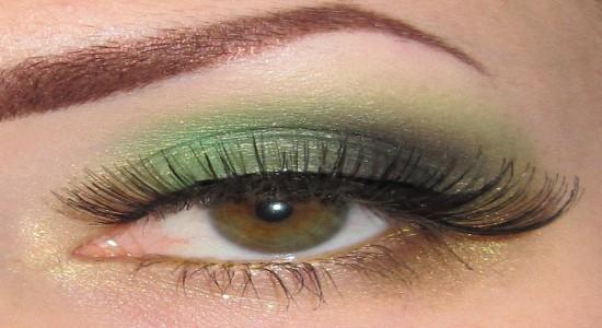 Правильный дневной макияж для зеленых глаз