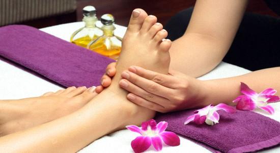 Плюсы массажа ног